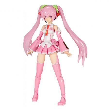 Hatsune Miku Frame Music Girl figurine Plastic Model Kit Sakura Miku Kotobukiya