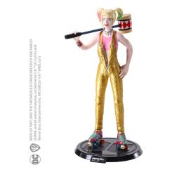 DC Comics figurine flexible Bendyfigs Harley Quinn BOP with Mallet Noble Collection