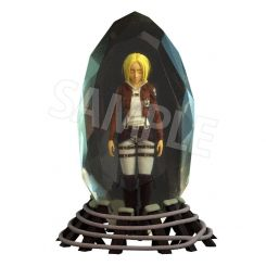 Attack on Titan statuette 3D Crystal Annie Leonhart Fots Japan