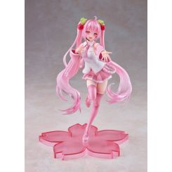 Vocaloid statuette Sakura Miku 2nd Season New Written Stage Face Ver. Taito