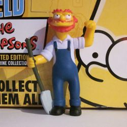 Groundskeeper Willie PVC Springfield Elementary série 3
