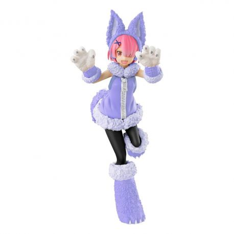 Re:ZERO SSS statuette Ram The Wolf and the Seven Kids Furyu