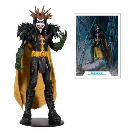 DC Multiverse figurine Dark Nights: Death Metal Darkfather Build A Robin King McFarlane Toys