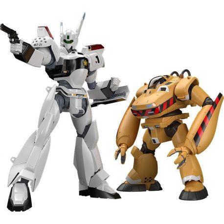 Mobile Police Patlabor figurines Plastic Model Kit Moderoid 1/60 AV-98 Ingram & Bulldog Good Smile Company