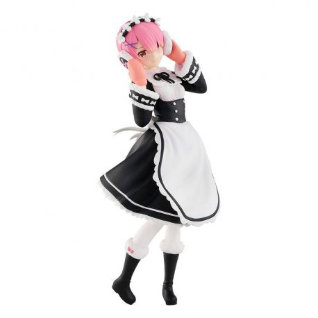 Re: Zero Starting Life in Another World statuette Pop Up Parade Ram Ice Season Ver. Good Smile Company