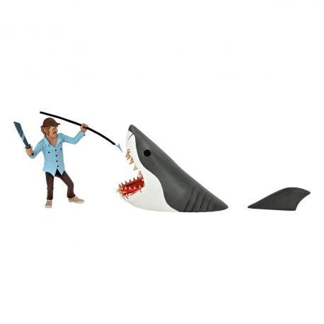 Les Dents de la mer pack 2 figurines Toony Terrors Jaws & Quint Neca