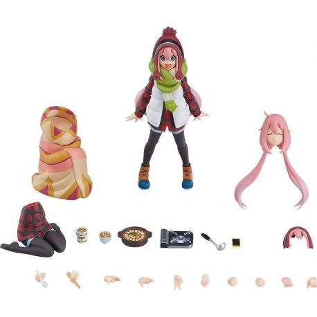 Laid-Back Camp figurine Figma Nadeshiko Kagamihara DX Edition Max Factory