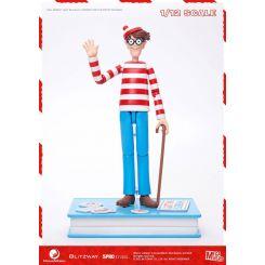 Où est Charlie ? figurine 1/12 Mega Hero Wally Blitzway