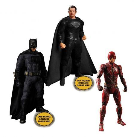 Zack Snyder's Justice League figurines 1/12 Deluxe Steel Box Set Mezco Toys