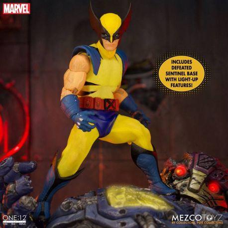 Marvel Universe figurine 1/12 Wolverine Deluxe Steel Box Edition Mezco Toys