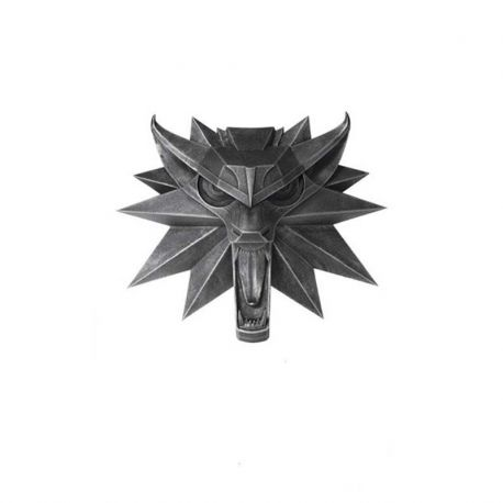 Witcher 3 Wild Hunt sculpture Wolf Dark Horse