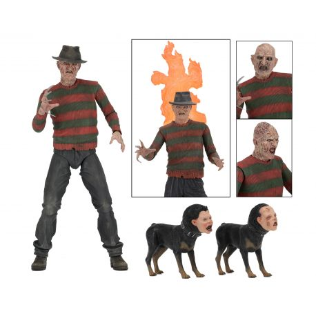 La Revanche de Freddy figurine Ultimate Part 2 Freddy NECA