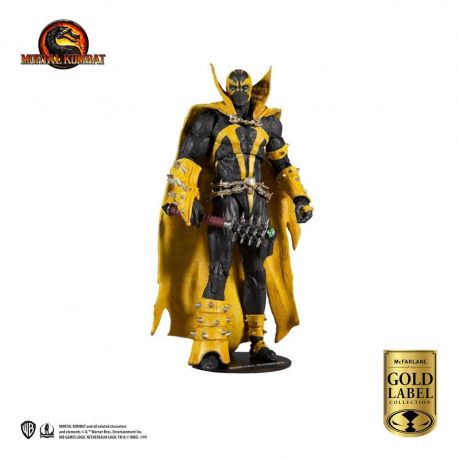 Mortal Kombat figurine Spawn (Curse of Apocalypse) (Gold Label Series) McFarlane Toys