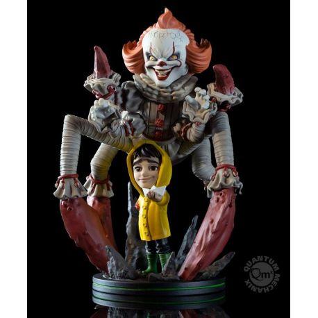 Ça 2017 figurine Q-Fig Max Elite Pennywise We All Float Quantum Mechanix