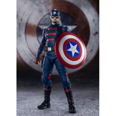 Falcon et le Soldat de l'Hiver figurine S.H. Figuarts Captain America (John F. Walker) Bandai Tamashii Nations