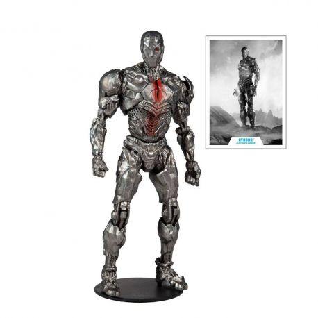 DC Justice League Movie figurine Cyborg (Helmet) McFarlane Toys