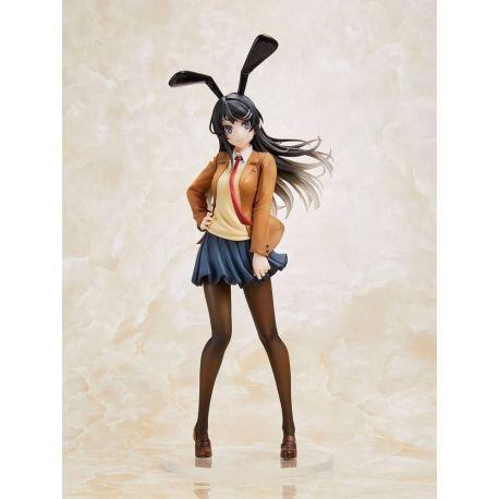 Rascal Does Not Dream of Bunny Girl Senpai statuette Mai Sakurajima Bunny Ver. Taito Prize