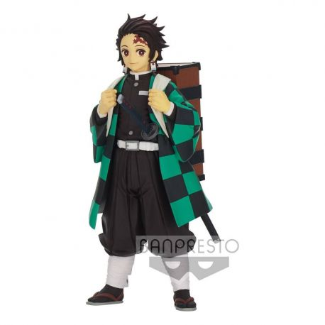 Demon Slayer Kimetsu no Yaiba figurine Tanjiro Kamado Banpresto