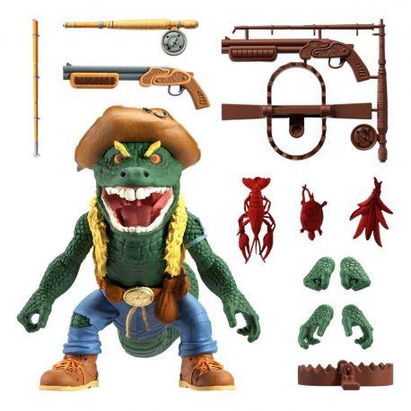 Les Tortues ninja figurine Ultimates Leatherhead Super7