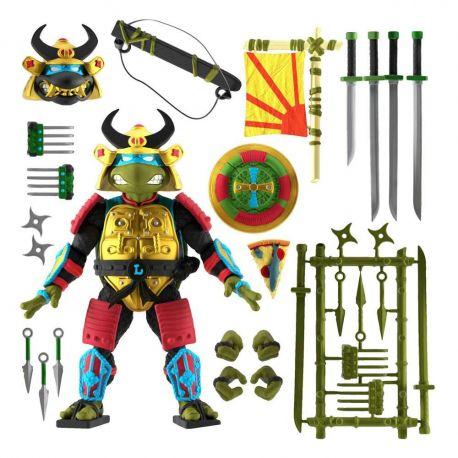 Les Tortues ninja figurine Ultimates Leo the Sewer Samurai Super7