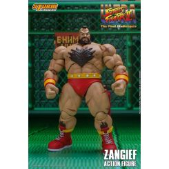 Ultra Street Fighter II: The Final Challengers figurine 1/12 Zangief Storm Collectibles