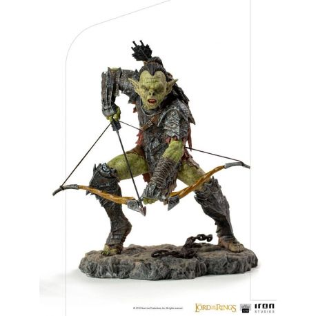 Le Seigneur des Anneaux statuette 1/10 BDS Art Scale Archer Orc Iron Studios