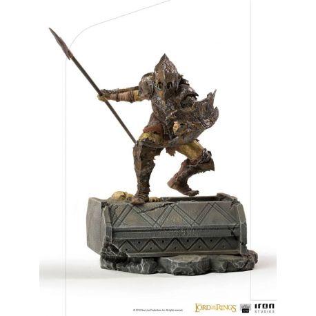 Le Seigneur des Anneaux statuette 1/10 BDS Art Scale Armored Orc Iron Studios