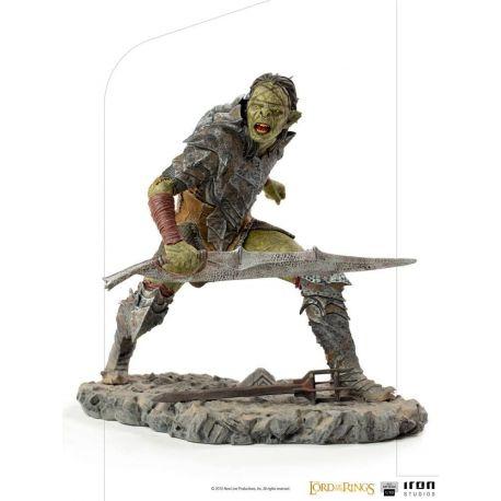 Le Seigneur des Anneaux statuette 1/10 BDS Art Scale Swordsman Orc Iron Studios