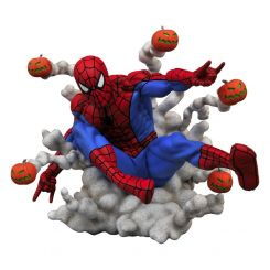 Marvel Comic Gallery statuette Spider-Man Pumpkin Bombs Diamond Select