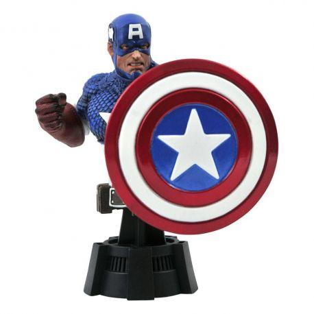 Marvel Comics buste Captain America Diamond Select
