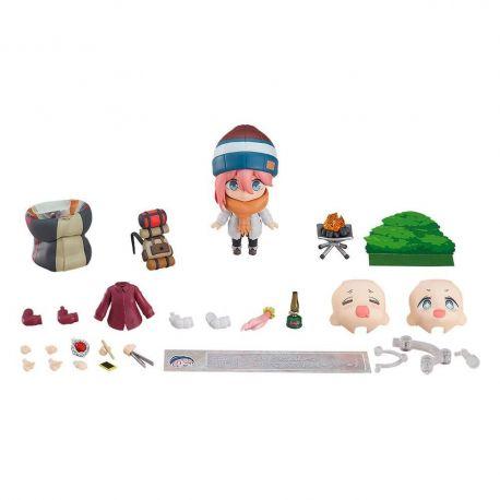 Laid-Back Camp figurine Nendoroid Nadeshiko Kagamihara Solo Camp Ver. DX Max Factory