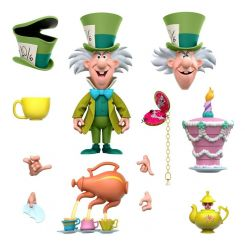 Alice au pays des merveilles figurine Disney Ultimates The Tea Time Mad Hatter Super7