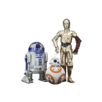 Star Wars Episode VII pack 3 statuettes ARTFX 1/10 C-3PO & R2-D2 & BB-8 Kotobukiya
