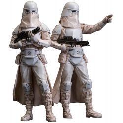 Star Wars pack 2 statuettes ARTFX+ Snowtrooper Kotobukiya