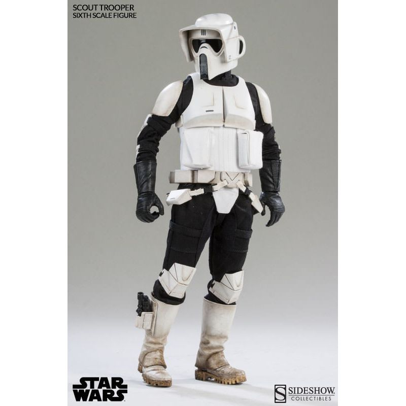 Star Wars Figurine 1 6 Scout Trooper Sideshow Collectibles