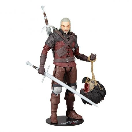 The Witcher 3: Wild Hunt figurine Geralt of Rivia (Wolf Armor) McFarlane Toys
