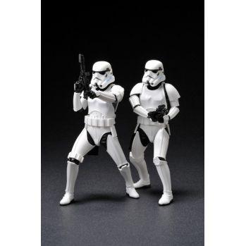 Star Wars pack 2 statuettes ARTFX+ Army Builder Stormtroopers Kotobukiya