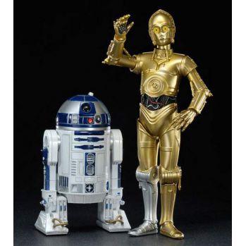 Star Wars pack 2 statuettes PVC ARTFX 1/10 C-3PO et R2-D2 17cm