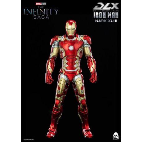 Infinity Saga figurine DLX Iron Man Mark 43 ThreeZero