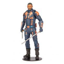 Suicide Squad DC Multiverse figurine Build A Bloodsport (Unmasked) McFarlane Toys
