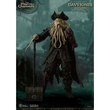 Pirates des Caraïbes figurine Dynamic Action Heroes 1/9 Davy Jones Beast Kingdom Toys