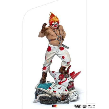 Twisted Metal statuette 1/10 Art Scale Sweet Tooth Iron Studios