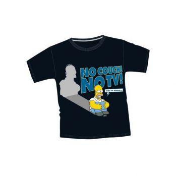 T-Shirt Simpsons No TV