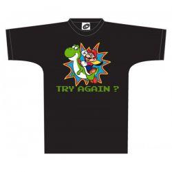 t-shirt Nintendo Mario and Yoshi