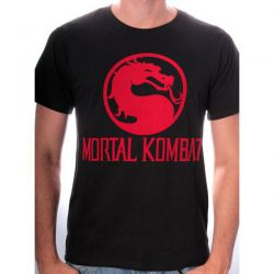 T-shirt Mortal Combat Dragon Logo