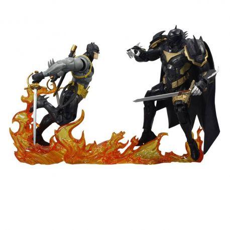 DC Multiverse pack 2 figurines Collector Multipack Batman vs Azrael Batman Armor McFarlane Toys