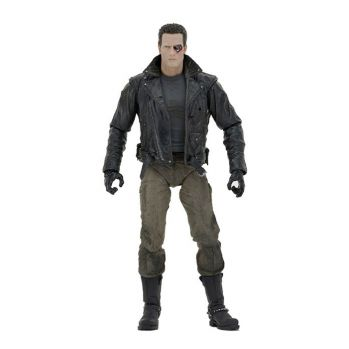 Terminator figurine Ultimate Police Station Assault T-800 (Motorcycle Jacket) Neca