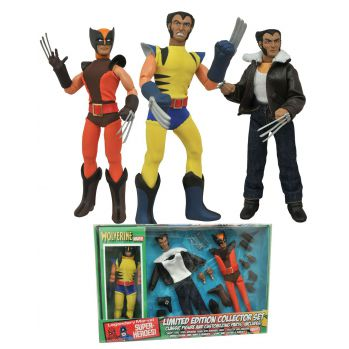 Marvel Retro figurine Wolverine Limited Edition Collector Set Diamond Select
