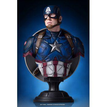 Captain America Civil War buste 1/6 Captain America Gentle Giant