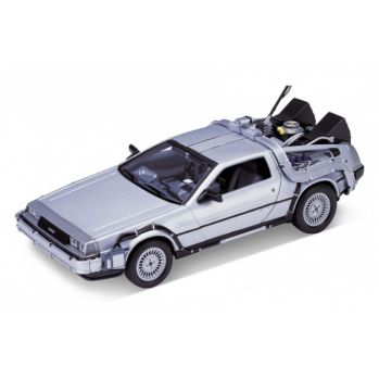 Retour vers le Futur DeLorean LK Coupe 1981 1/24 métal Welly